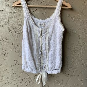 ✨lace Abercrombie top